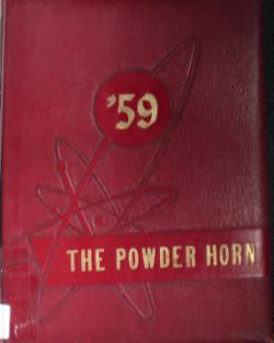 """The Powder Horn"" Jonathan Alder High School Year Book 1959"