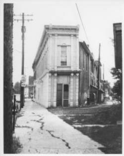 Earl Scott building on North Chillicothe Street, taken by John Karrer in the 1950's